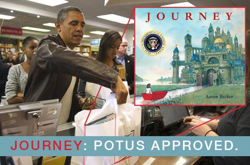 Obama schafte Op reis persoonlijk aan.